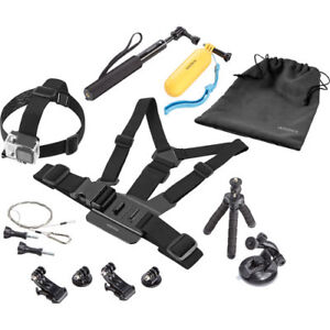 Insignia Essential Accessory Kit for GoPro Model #: NS-DGPK10-C