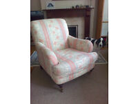Marks & Spencer floral arm chair