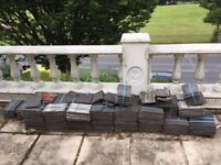 Concrete roof tiles, Marley Modern - some cracked but most are good. Buyer collects from BN1 8GN