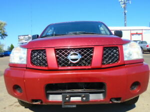 2007 Nissan Titan SE CREW CAB 4X4--DRIVES EXCELLENT--FINANCING
