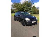 2004 Renault Clio extreme 1.1 (petrol) (only 68k genuine miles from new)