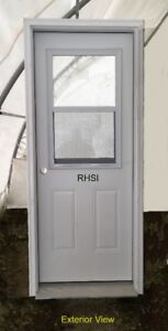 """Entry Door (36"""" x 80"""") with Full Frame and Venting D/L - RHSI"""