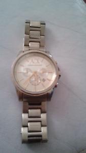 Armani Exchange Gold Mens Watch