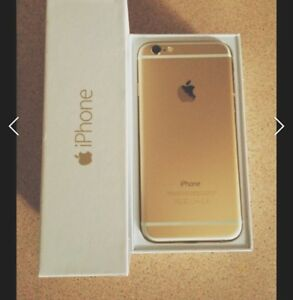 iPhone 6 gold 64 Gig