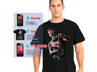 T Shirt Digital Dudz Beating Heart Zombie Shirt Halloween Horror Party - Large