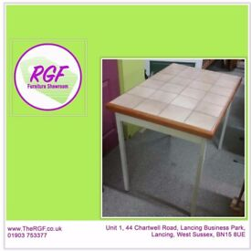 SALE NOW ON!! Tile-top Dining Table - Can Deliver For £19