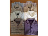 Men's Clothing Bundle. 6 Shirts, 2 T-Shirts NEW or As New Condition