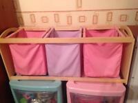 Gorgeous girls storage unit