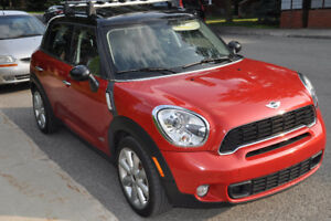 2014 MINI Cooper S Countryman ALL4 Sport Pack, manual  + extras!