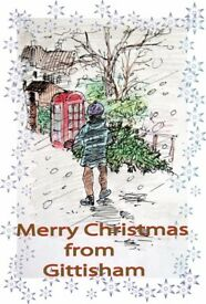 I create personal Christmas Postcard ...only yours!!!