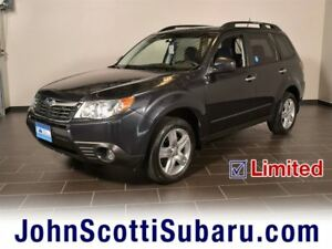 2010 Subaru Forester 2.5 X Limited Package