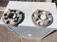 Ford Fiesta wheel spacers
