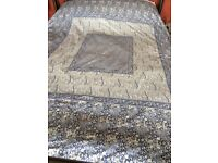 Sheridan King Size Bedding & Curtains