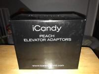 icandy peach elevator adaptors new