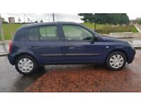 RENAULT CLIO Expresion ,1.2 AUTO ,48000 MILES ,A YEAR'S MOT ,