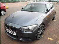 Bmw 1 118d 2.0 M Sport 5dr 19in Alloys