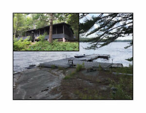 12 Acre Island on Manitouwabing