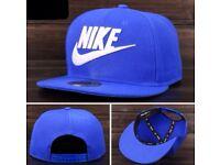 BRAND NEW NIKE SNAPBACK CAP ADJUSTABLE BLUE