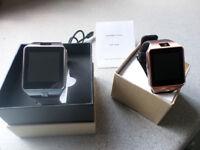 Smartwatch (DZ09) One white one gold.