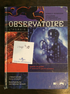 Observatoire Science et Technolgie