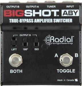 Radial BigShot ABY amp switcher