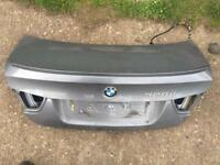 BMW e90 3 series boot lid in grey
