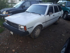 1980-1983 Toyota Corolla Wagon Part Out