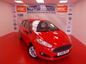 Ford Fiesta ZETEC (ONLY 9000 MILES) FREE MOT'S AS LONG AS YOU OWN THE CAR!! (red) 2016