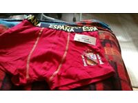 MENS SPANISH BOXER SHORTS SIZE SMALL OR MEDUIM €3 EACH OR 2 FOR £5
