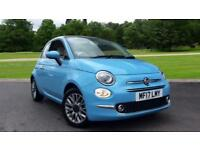 2017 Fiat 500 1.2 Lounge 2dr Manual Petrol Convertible