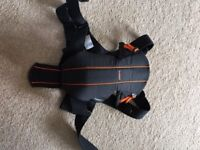 Baby Bjorn baby carrier with back support in excellent condition