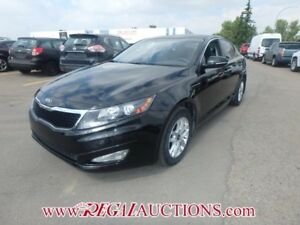2013 KIA OPTIMA LX 4D SEDAN 6SP 2.4L LX
