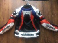ALPINE STARS MOTORBIKE JACKET XL MINT CON £120