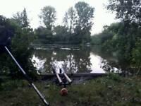 2 wychwood c101 carp rods carp fishing
