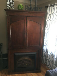 Make an offer -Fireplace Entertainment Armoire with remote