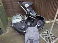 Quinny Buzz Travel System in Storm