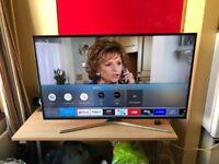 "Samsung 50"" 4K smart tv"