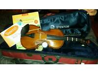 Full size Stentor student violin. Excellent condition
