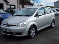 2006 toyota corolla verso 2.2 diesel only 44000 miles, motd april 2018 1 owner from new
