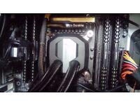 Intel I7 5820k cpu, Also optional motherboard, 16gb ram