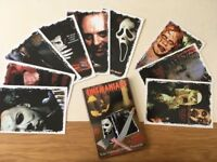 Icons of Horror - Cine-Maniacs Rare Collectors Postcard Set - Series I & II