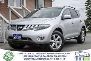 2010 Nissan Murano SL AWD | ACCIDENT FREE | ONE OWNER