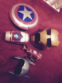 Bundle of Avengers and Star Wars toys for sale