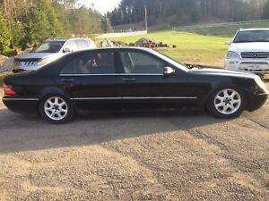 2002 Mercedes Benz S500 for Sale or Trade