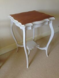 Occasional Table / Side Table - Painted in Laura Ashley 'Soft Truffle'
