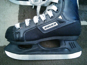 Bauer Supreme Hockey Skates Youth Size 12D