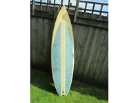 Hexcel 6ft Surfboard