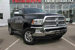 2015 Ram 3500 Laramie/Leather/Tow Hitch/Bed-Liner/AC Seats