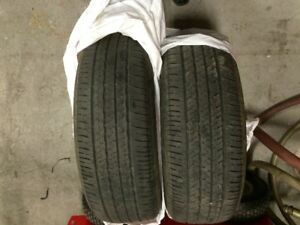 Pair of Bridgestone Ecopia EP422 Plus 205/60R16