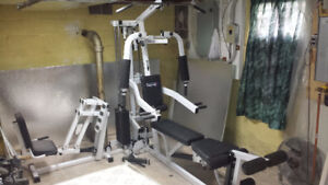 BodyCraft Complete Weight Lifting Exercise Machine $525